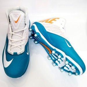 NEW Nike Men's Zoom Football Cleats Tea Size 13